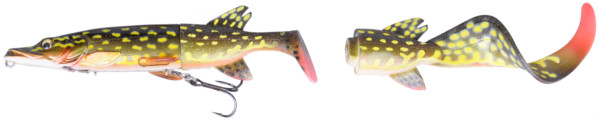 Savage Gear 3D Hybrid Pike 17 & 25 cm (8 options) - Yellow Pike