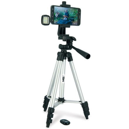 NGT Smartphone Tripod including Flash and Remote Control
