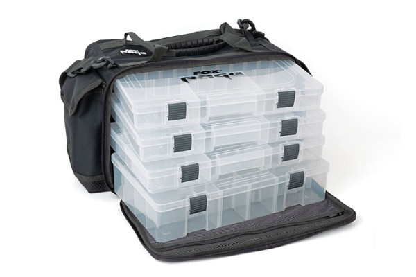 Fox Rage Stacker including tackle boxes (2 options) - Stacker Medium