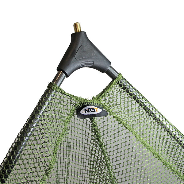 "NGT Deluxe 42"" Carp Net with Carbon Arms (1-piece or 2-piece handle)"