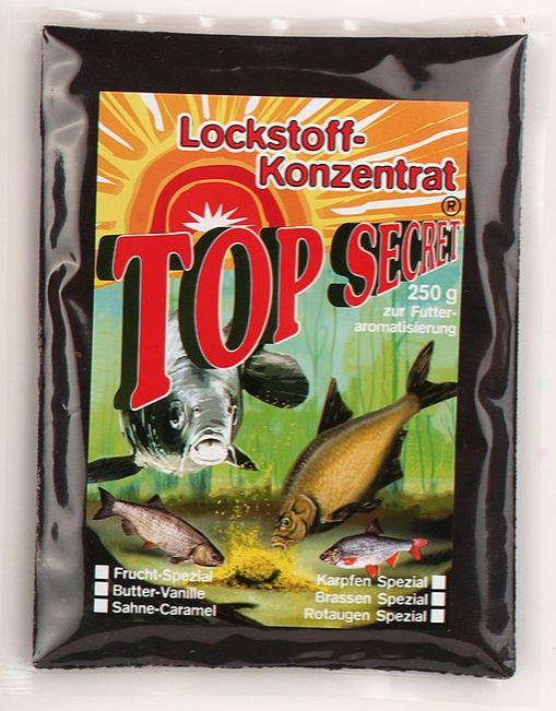 Top Secret Groundbait Concentrate 250 g (9 options) - Top Secret Concentrated Attractant 250g - Blood Meal: