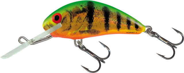 Salmo Hornet Floating 4cm - Holographic Fire Tiger