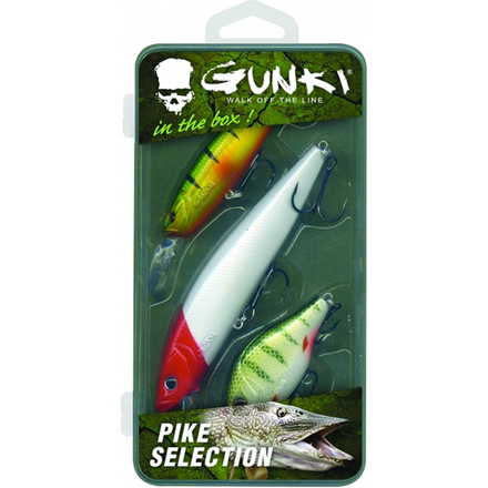 Gunki Box Pike Selection (3 hard baits)