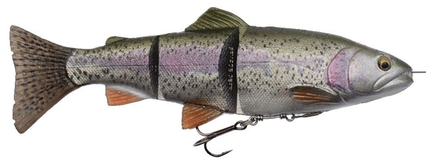 Savage Gear 4D Line Thru Trout - Rainbow