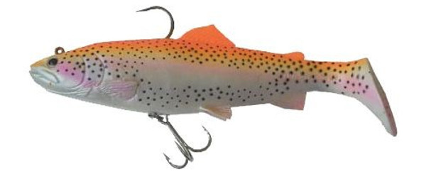 Savage Gear 3D Trout Rattle Shad 27.5cm - Golden Albino Rainbow