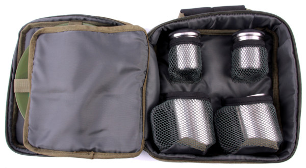 NGT Complete Cutlery Set for 2 People including Carry Case
