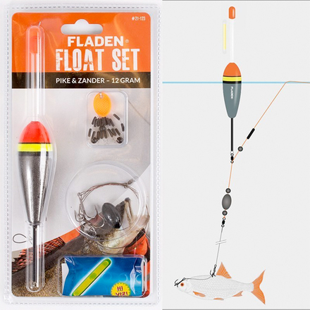 Fladen Deadbait Float-set Pike/Zander (2 options)