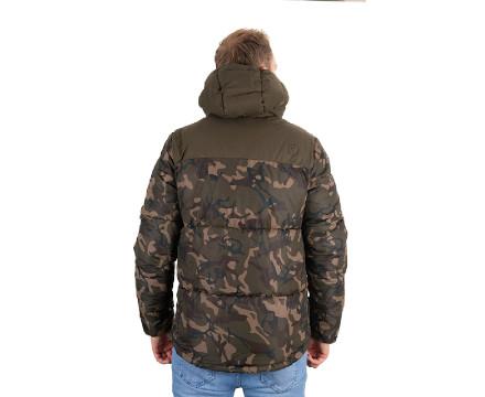 Angelbekleidung Winterjacke f/ür Angler Fox Camo//Khaki RS Jacket Angeljacke f/ür Karpfenangler Gr/ö/ße:XL