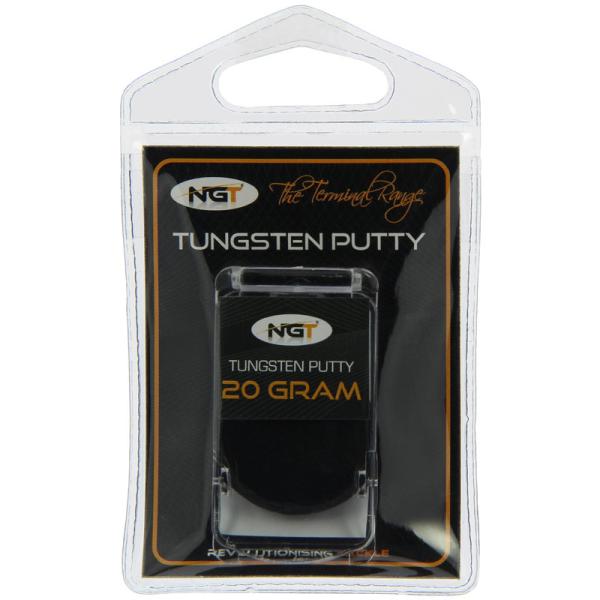 20g High Density Black Tungsten Putty carp//coarse Ngt Tungsten Putty