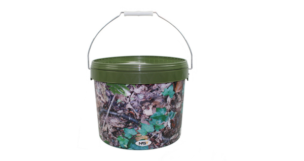 NGT Round Camo Buckets (3 options) - 10 L