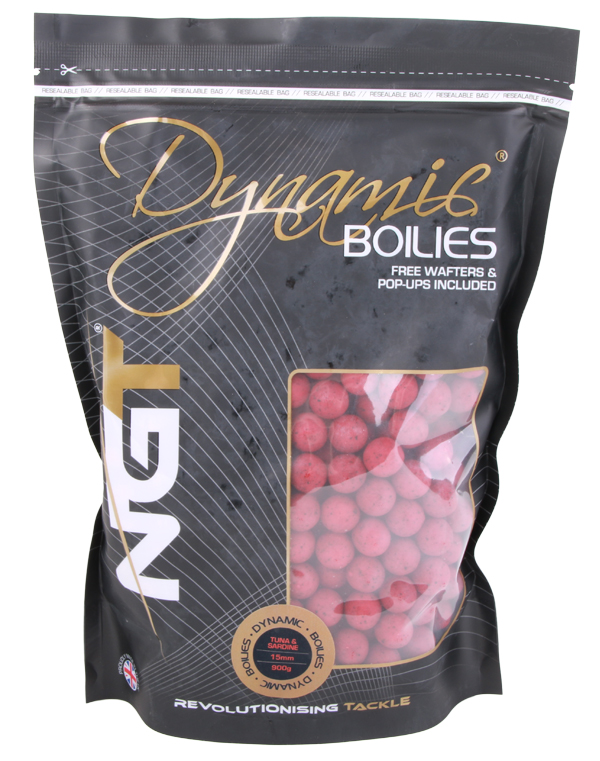 NGT Dynamic Boilies 900 g 15 mm (5 options)