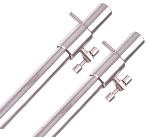 Set of 4 Stainless Steel Bank Sticks