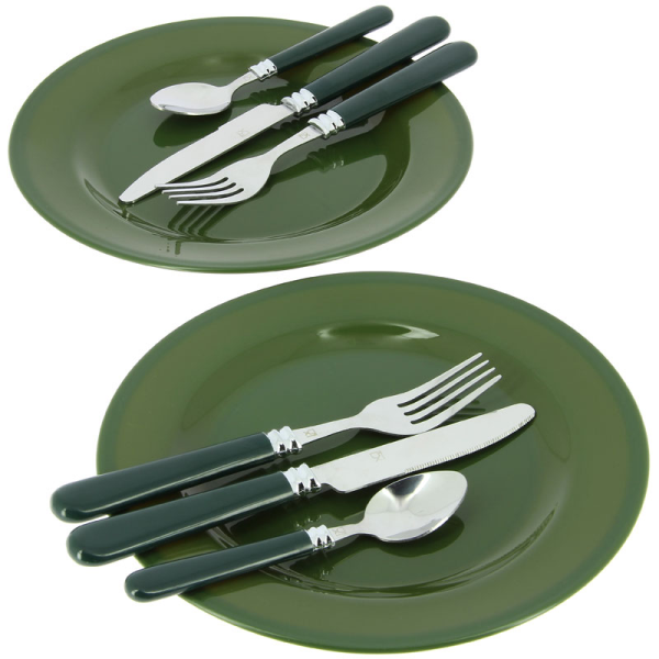 Deluxe 2 person cutlery set