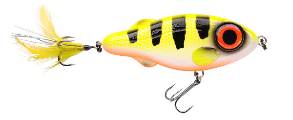 Spro Iris Flashjerk 115 (8 options) - Hot Perch