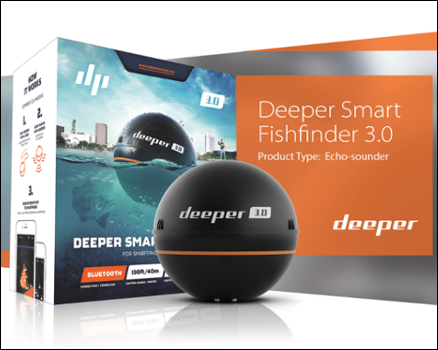 Deeper 3 0 Bluetooth Fishfinder