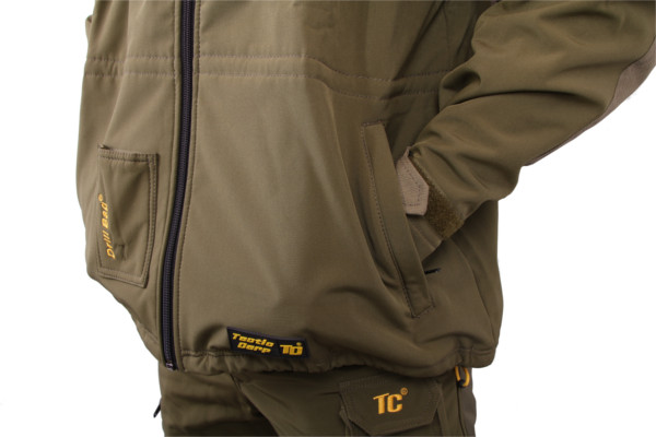 Tactic Carp Softshell Parka Jacket (Available in size S - XXXL)