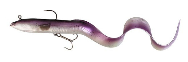 Savage Gear Real Eel Ready to Fish 40 cm (4 options) - Purple Pearl