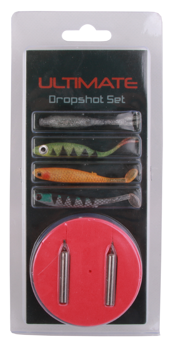 Complete Drop Shot Set with Shimano reel and NGT rod