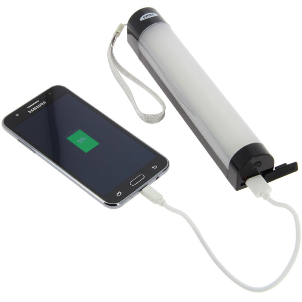 NGT Rechargable Bivvy Light / Powerbank with remote control
