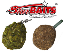 Image of 10 x Starbaits Square Pear Lead, available in Swivel or Inline model (35 options)
