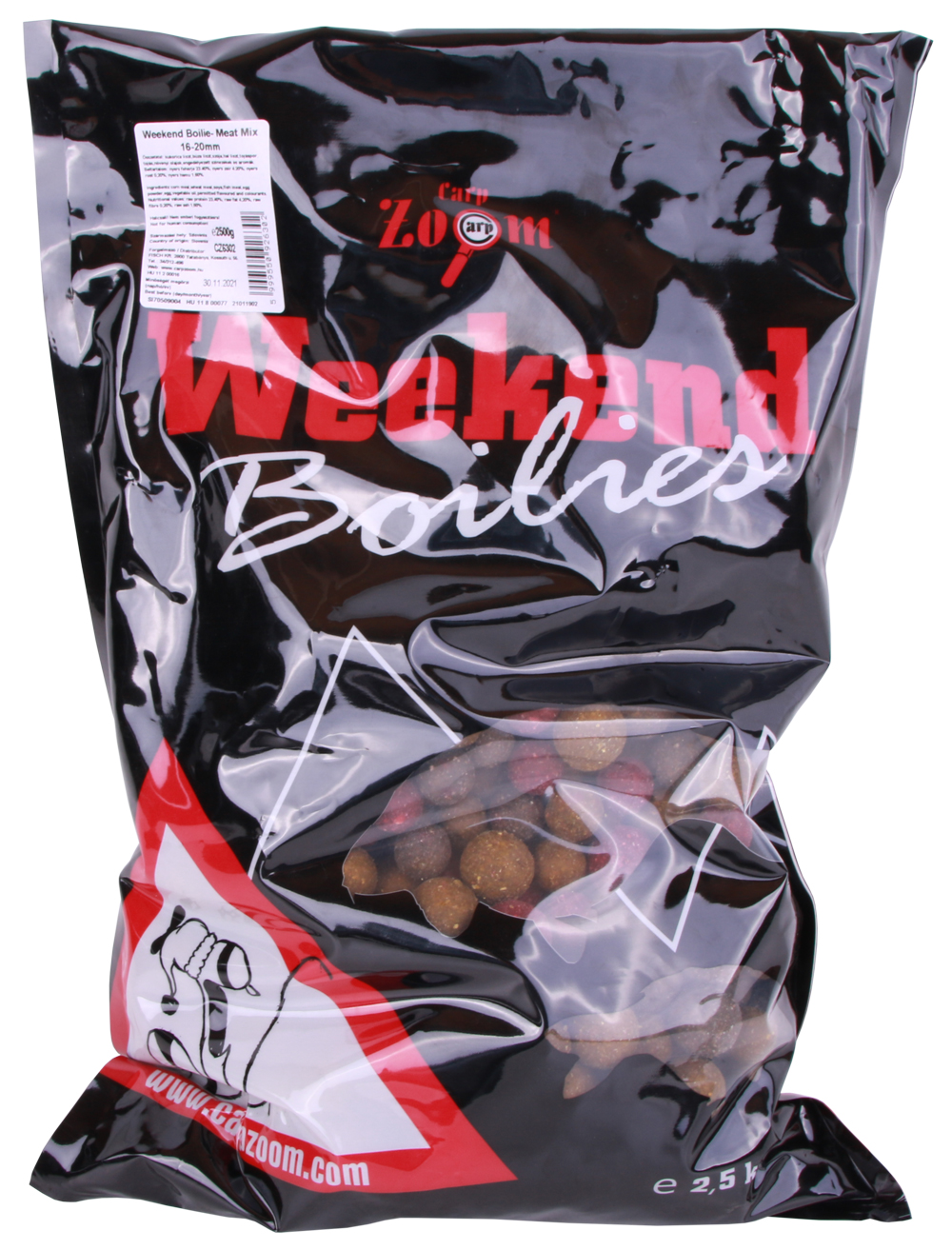 Carp Zoom Weekend Boilies 2500 g (2 options) - Meat Mix