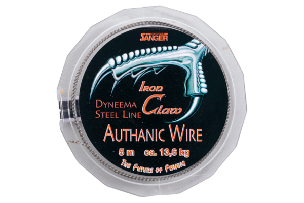 Iron Claw Authanic Wire, supple wire leader (6 options)