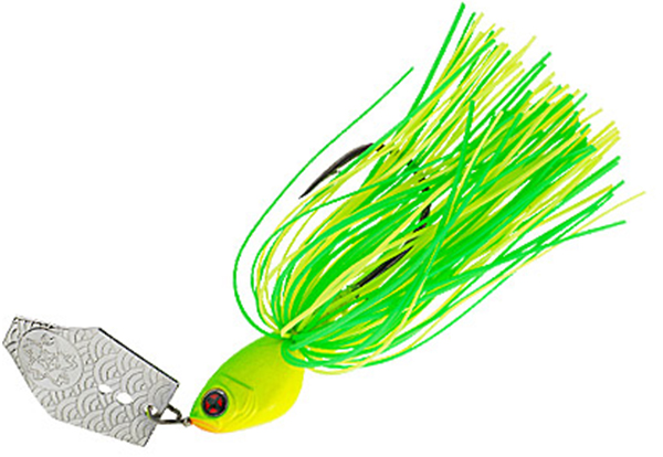 Sakura Swinger Chatterbait - Hot Chartreuse