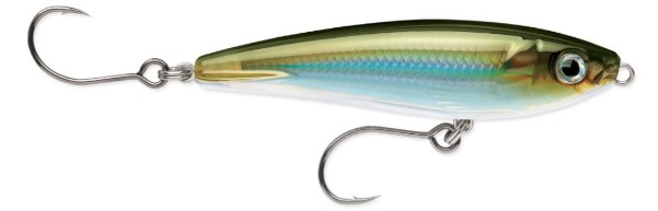 Rapala X-Rap Saltwater Subwalk 15 cm - Moss Back Shiner