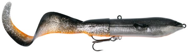Savage Gear 3D Hard Eel 25 cm - Dirty Silver