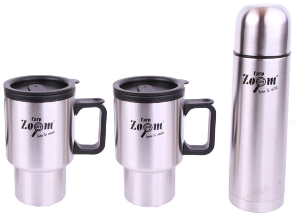 Carp Zoom Vacuum Flask & Mug Set