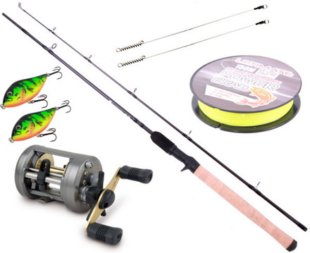 Jerkbait Set with Ultimate rod & Shimano reel