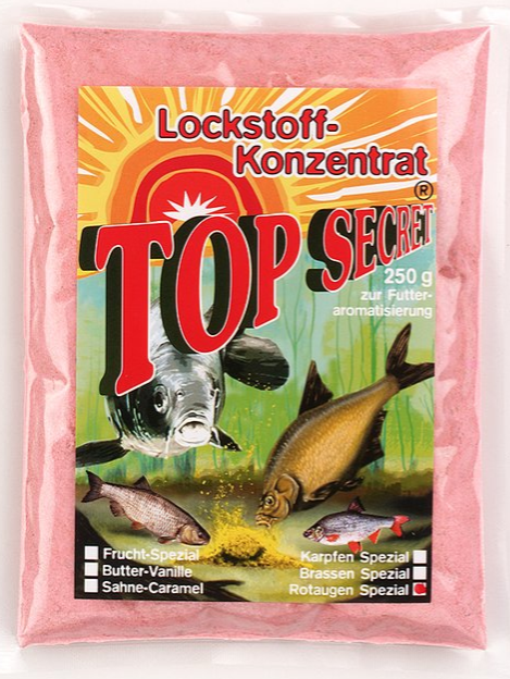 Top Secret Groundbait Concentrate 250 g (9 options) - Top Secret Concentrated Attractant 250g - Roach Special: