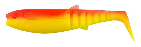 10x Savage Gear Cannibal Shad 6.8cm (2 options) - YR Fluo