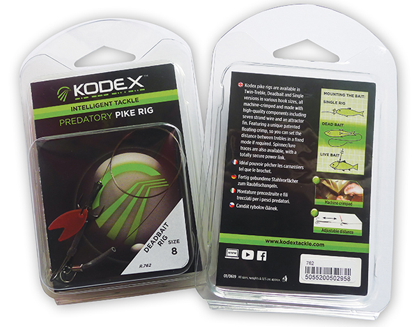 Kodex Predatory Pike Rig (3 options)
