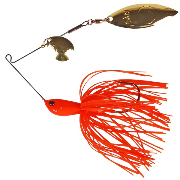 DAM Effzett Vitanium Spinnerbait (6 options) - Orange