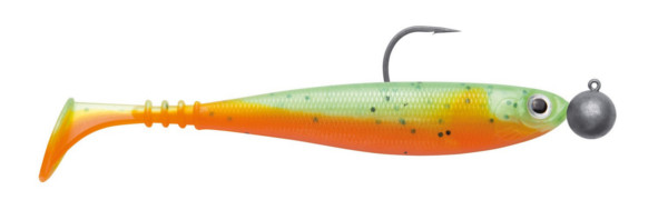 Jackson Zanderbait Rigged 14 cm 14 g 2 pcs (multiple options) - Green Orange