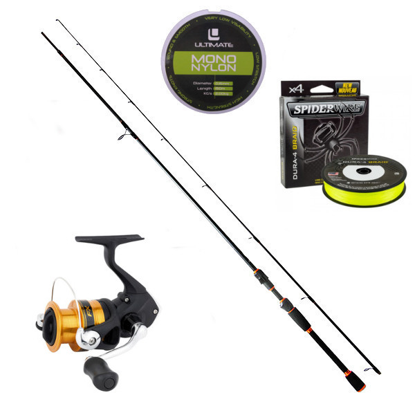 Drop Shot Set with Shimano reel and NGT rod