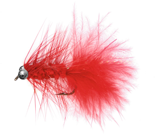 Magic Trout Flies (5 options) - Quiver Red