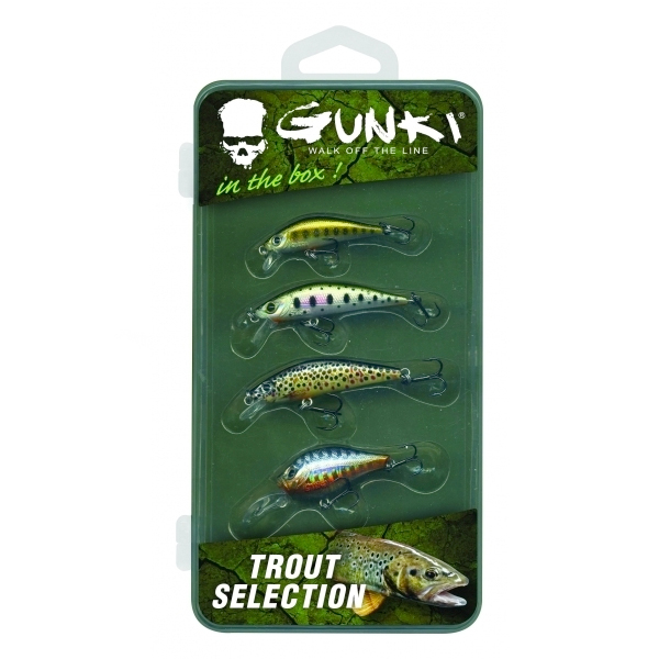 Gunki Box Trout Selection (4 hard baits)