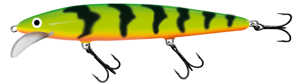 Salmo Whacky 9 cm - Green Tiger