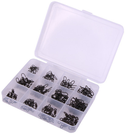 Ultimate Swivel&Snap Set, 120 pcs in total!