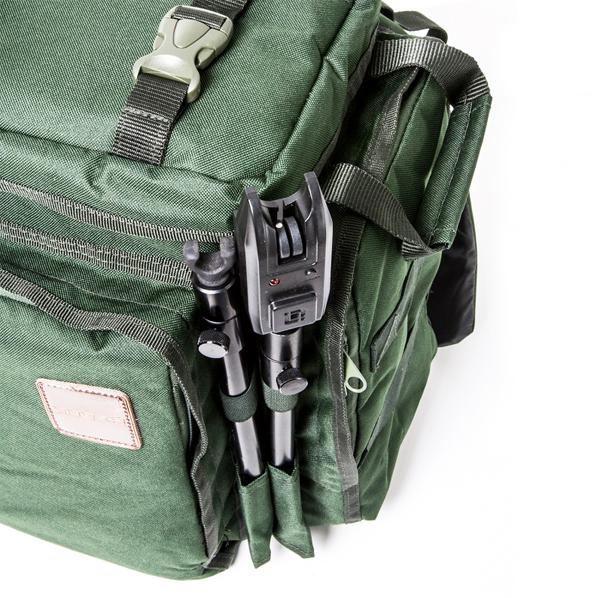 Saber Supra Compact Rucksack NEW Carp Fishing Green Rucksack