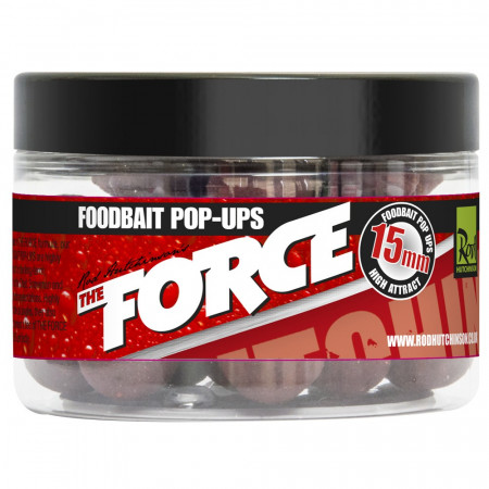 Rod Hutchinson The Force Food Bait Pop Ups 15 mm - Rod Hutchinson The Force Food Bait Pop Ups 15mm