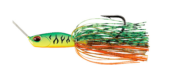 DUO Realis Spinnerbait G1 (multiple options) - Mat Tiger - Blade color: Gold
