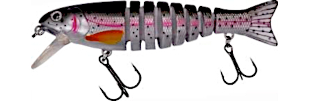 Effzett Striker - 13.5 cm (10 options) - Rainbow Trout