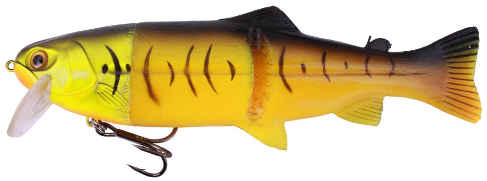"Castaic Hard Head Real Bait 9"" Floating (multiple options) - Firetiger"