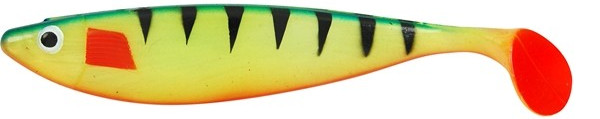 2x Spro Wob Shad 22cm Yellow Perch - Yellow Perch