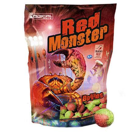 1 kg Radical Red Monster Boilies