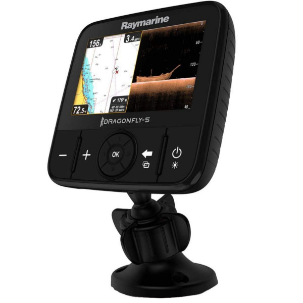 Raymarine Dragonfly 5Pro Fishfinder including CPT-60 Transducer