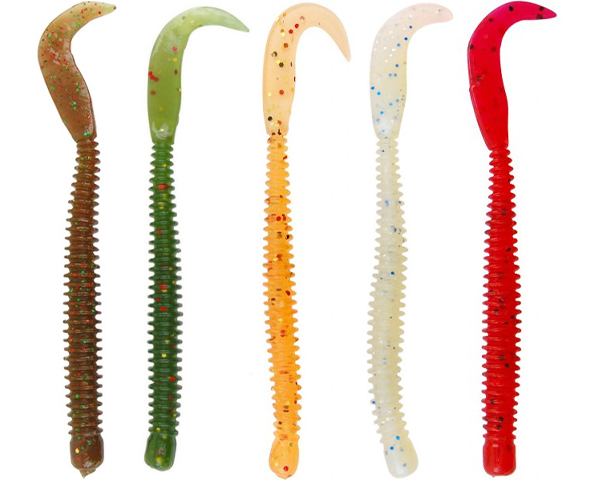 Spro Ring Worm perfect for perch, zander and sea bass - Assortment